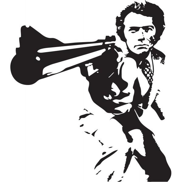 Naklejka NK002S - 50x56cm - Dirty Harry