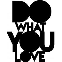 Naklejka NN021S - 50x65cm - Do what You Love