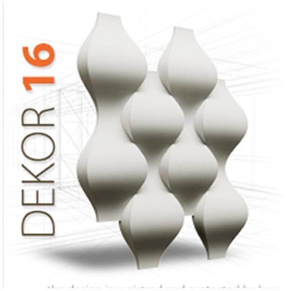 Loft System DEKOR 16 - Panel gipsowy 3D