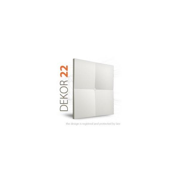 Loft System DEKOR 22 - Panel gipsowy 3D
