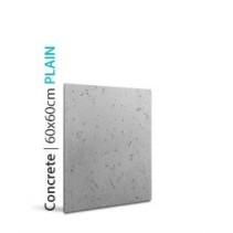 Loft System CONCRETE PLAIN 60x60cm - Panel gipsowy 3D