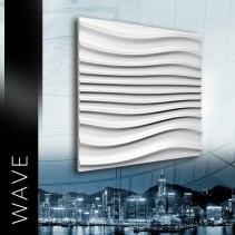ZD Design WAVE - Panel gipsowy 3D