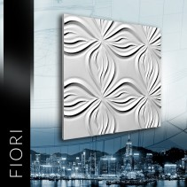 ZD Design FIORI - Panel gipsowy 3D