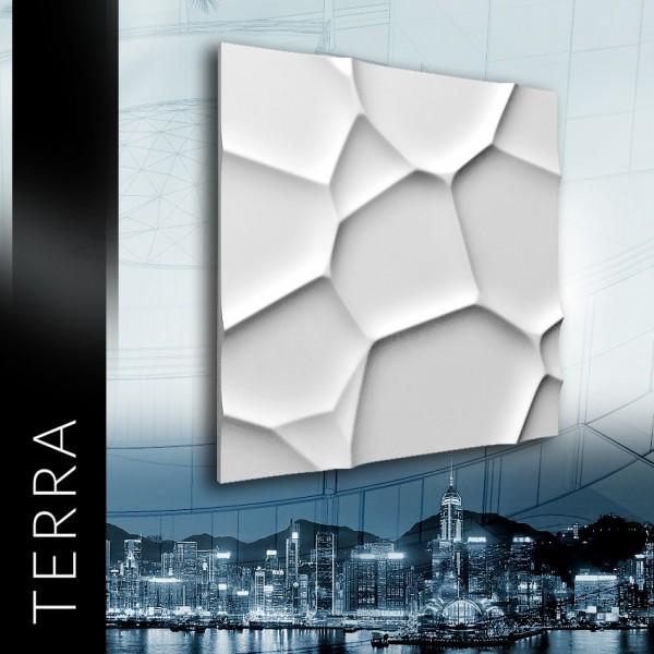 ZD Design TERRA - Panel gipsowy 3D