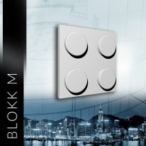 ZD Design BLOKK M - Panel gipsowy 3D