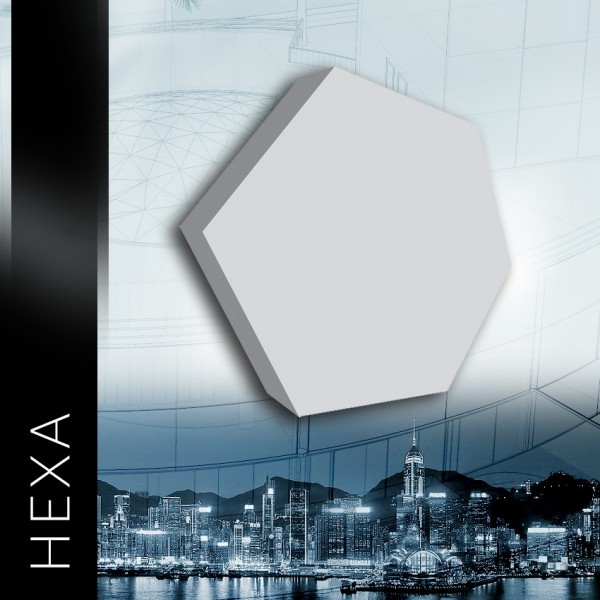 ZD Design HEXA - Panel gipsowy 3D