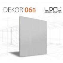 Loft System DEKOR 06B - Panel gipsowy 3D
