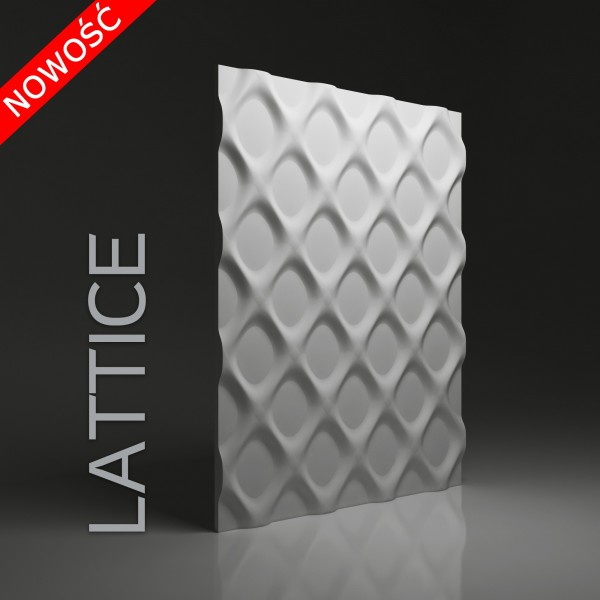 Dunes 30 LATTICE - Panel gipsowy 3D