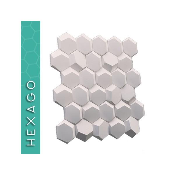 ZD Design HEXAGO - Panel gipsowy 3D