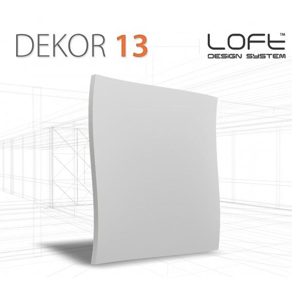 Loft System DEKOR 13 - Panel gipsowy 3D