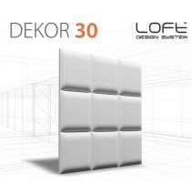 Loft System DEKOR 30 - Panel gipsowy 3D