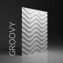 Dunes 02 GROVY - Panel gipsowy 3D