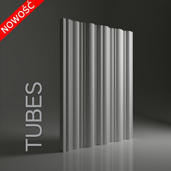 Dunes 18 TUBES - Panel gipsowy 3D