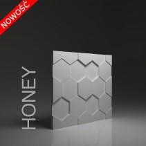 Dunes 19 HONEY - Panel gipsowy 3D
