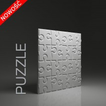 Dunes 21 PUZZLE - Panel gipsowy 3D