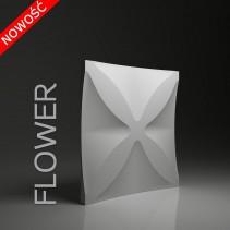 Dunes 22 FLOWER - Panel gipsowy 3D