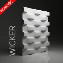 Dunes 24 WICKER - Panel gipsowy 3D