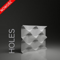Dunes 26 HOLES - Panel gipsowy 3D