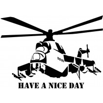 Naklejka NG002M - 100x72cm -Have a nice day