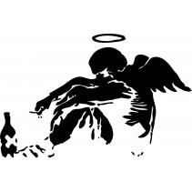 Naklejka NG012XL - 100x154cm - Angel