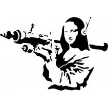 Naklejka NG018S - 75x51cm - Mona Lisa 2