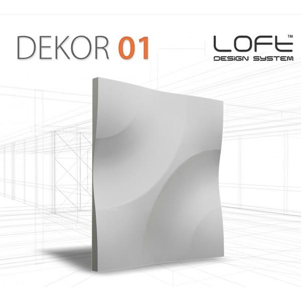 Panele Loft System - Dekor 01