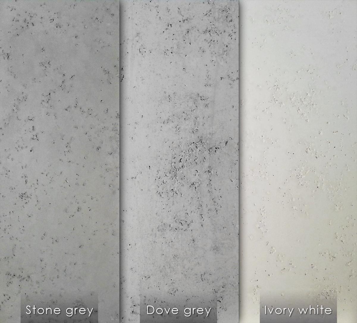 Panele 3d loft system - Wandfarbe betonoptik ...