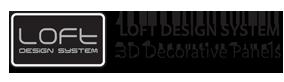 Panele gipsowe 3D Loft Design System