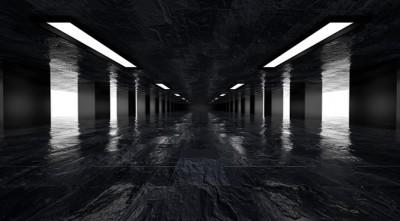 Dark corridor #72443331