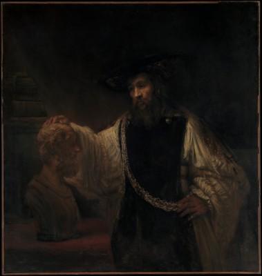 Arystoteles z popiersiem Homera - Rembrandt