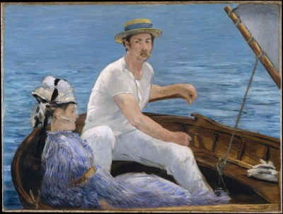 Boating - Édouard Manet