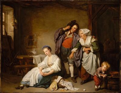 Broken Eggs - Jean-Baptiste Greuze