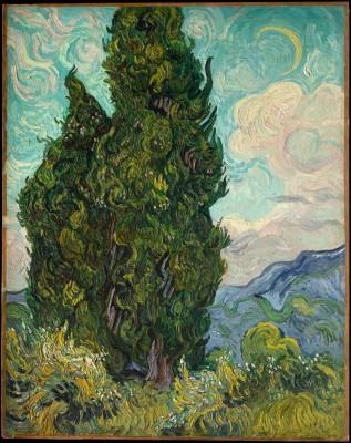 Cyprysy - Vincent van Gogh