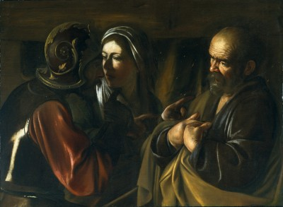 The Denial of Saint Peter - Caravaggio