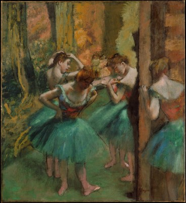 Dancers, Pink and Green - Edgar Degas