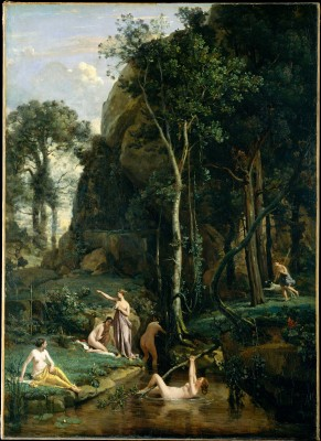 Diana and Actaeon - Camille Corot