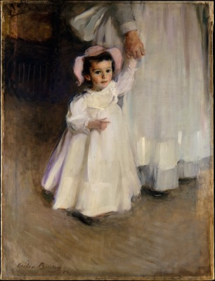 Ernesta (Child with Nurse) - Cecilia Beaux