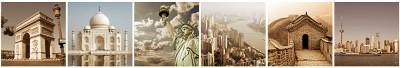 Miasta kolaż I