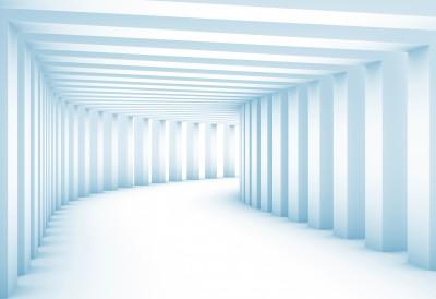 Tunnel with columns XXL