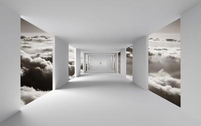 Korytarz w chmurach II