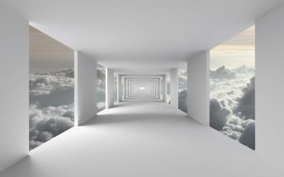 Korytarz w chmurach I