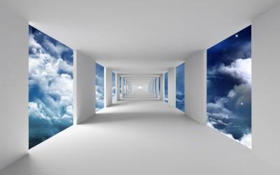 Korytarz w chmurach III