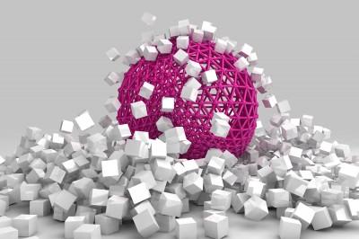 Pusta różowa kula #84684801