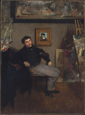 James-Jacques-Joseph Tissot - Edgar Degas