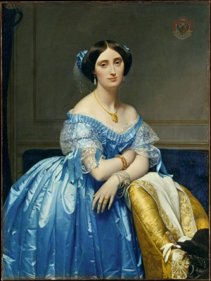The Princesse de Broglie - Jean-Auguste-Dominique Ingres