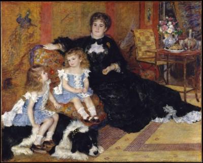 Madame Georges Charpentier - Auguste Renoir