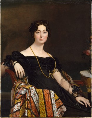Madame Jacques-Louis Leblanc - Jean-Auguste-Dominique Ingres