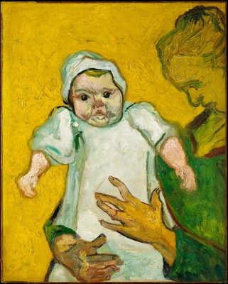 Madame Roulin and Her Baby - Vincent van Gogh