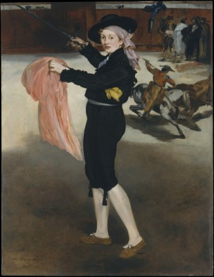 Mademoiselle V. . . in the Costume of an Espada - Édouard Manet