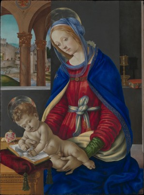 Madonna and Child - Fra Filippo Lippi